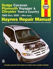 Dodge Caravan, Plymouth Voyager & Chrysler Town & Country ~ 1996 thru 1999