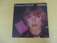 """MARIANNE FAITHFULL """"FAITHLESS"""" (NEMS, LP ALBUM, 1978, VG/VG)"""