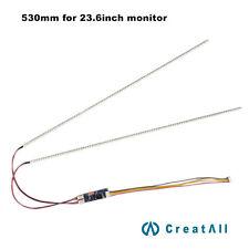530mm 23.6inch  led backlight strip kit,Update ccfl lcd  to led backlight