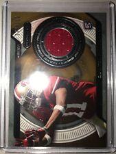 2013 Topps Strata Jerseys Bronze 49ers Football Card #SRQP Quinton Patton /150