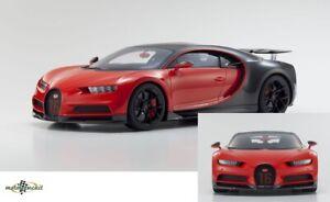 Bugatti Chiron rot schwarz resin 2016 1:12 Kyosho Neu OVP