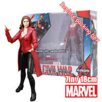 "Scarlet Witch Marvel Avengers Legends Comic Heroes 7"" Action Figure Toy In Stock"