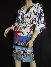 "ROBERTO CAVALLI DRESS 'IL DAFINE' 6M IT40 ELEGANT NEW EDITION ""AMAZING PRINT"""