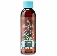 As I Am Born Curly Organic Hair and Body Wash with Avocado & Grape Seed Oil 4oz