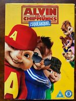 Alvin And The Chipmunks Squeakuel 2 DVD 2007 Live Action Famiglia Film