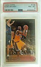 1996 Topps Kobe Bryant Rookie Card #138!  PSA Graded 8 NM-MT