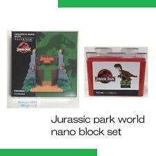 jurassic park Gate & T-Rex Nano block set USJ Limited japan