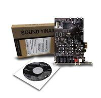 yinail SB0105 sound card desktop PCI-E 5.1K song card built-in sound card live