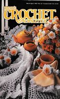 Annie's Crochet Newsletter Magazine March-April 1993 No. 62