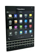 Blackberry Passport (Rgy181Lw) 32Gb Gsm Unlocked Black Smartphone- Clean Imei