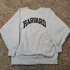 Vintage 90s Champion Reverse Weave Sweatshirt Harvard College Size M