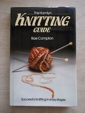 The Hamlyn Knitting Guide~Rae Compton~Patterns & Techniques~128pp HBWC~1980