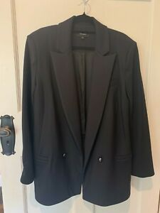 Life with Bird Black Blazer  - Size 3 (AU 12/14)