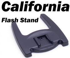 """Flash Stand Holder Mount Bracket Cold Hot Shoe Speedlite Flashgun 1/4"""" Screw Hol"""