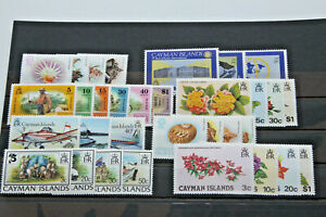CAYMAN ISLANDS - RANGE OF UNMOUNTED MINT SETS IN A5 CARD