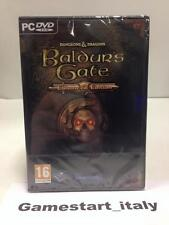 BALDUR'S GATE ENHANCED EDITION - PC - NUOVO SIGILLATO NEW SEALED VIDEOGAME