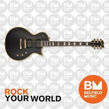 ESP LTD EC-401 Eclipse Electric Guitar Vintage Black Mahogany Body w/ EMGs EC401