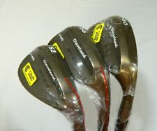 New Cleveland Rotex 3 RAW RTX-3 wedge set 52* AW 56* SW 60* LW V-MG Grind wedges