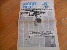 MPA MODEL PILOTS ASSOCIATION NEWS MAG # 1 SUMMER 1991 RARE FIRST EVER AEROPLANES