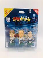Corinthian Prostars England World Cup 2002 3 Player Pack Set 6 C054317