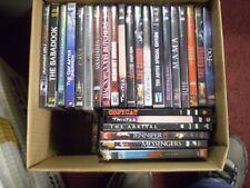 (67) Horror Film DVD Lot: The Conjuring Mama Jaws Saw Godzilla Red Riding Hood