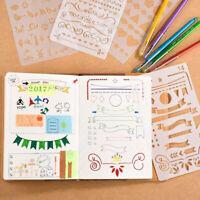 12pcs / 20pcs Journal Schablonen Zeichenschablonen Bullet Schablone Tagebuch DE