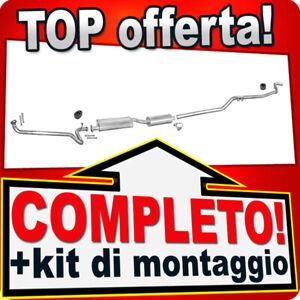 Scarico Completo per FORD TRANSIT 2.5 D Bus / Furgonato / Telaio LWB 1988-1991
