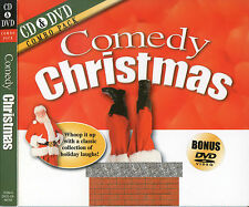 Comedy Christmas - Various Artists  CD & DVD Combo Pack