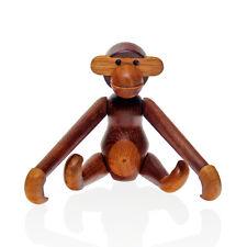 Kay Bojesen - Early Original Teak & Limba Wood Monkey - 1960s Danish Signed