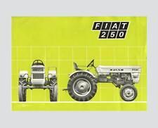 FIAT 250 Schlepper Hinterrad Traktor Original