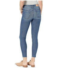 NWT 7 For All Mankind The Ankle Skinny Cut Off Hem femme SZ 30 $189 luxe vintage