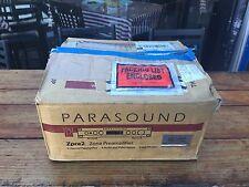 Parasound zpre2 2 Channel Pre-Amp/Processor Amplifier