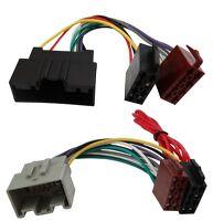 Adaptateur faisceau câble fiche ISO pour autoradio pour Ford Fiesta Mk7 08-15