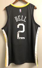 "Jordan Bell ""2018 NBA Champs"" Warriors Signed XL Nike Statement Jersey (JSA COA)"