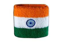 Schweißband Fahne Flagge Indien 7x8cm Armband für Sport
