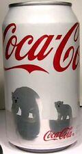 FULL 355ml Can American Coke Coca-Cola Save Polar Bear White Issue 2011 USA