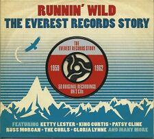 RUNNIN' WILD THE EVEREST RECORDS STORY 1959 - 1962 - 2 CD BOX SET