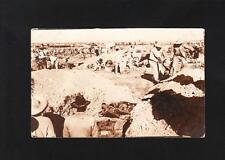 Real Photo Postcard AZO 1904-20 Mexico Revolution ? Mass Grave 1917 ? US War Z87