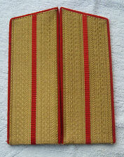 Schulterstücken Landstreitkräfte Offizier Paradeuniform  UDSSR Sowjet Armee