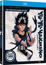 Yu Yu Hakusho . Ghost Files . The Complete Season 3 .. Anime .. 3 Blu-ray .. NEU