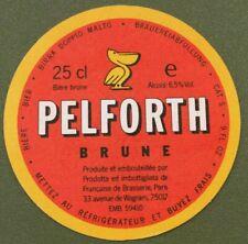 Pelforth Brune and Pale Beer Mat