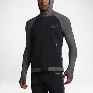 Nike x Undercover Gyakusou Team Jacket Black 842779 010 Size L NWT