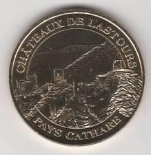 -- 2007 COIN TOKEN JETON MONNAIE DE PARIS -- 11 600 CHÂTEAUX DE LASTOURS CATHARE