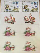Three A4 Sheets Of Christmas Toppers / Card