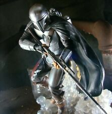 More details for star wars the mandalorian diorama by diamond selects collectable figure, bnib.