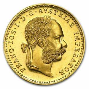 1 Dukat 1915, Wien, Franz Joseph, Gold .986