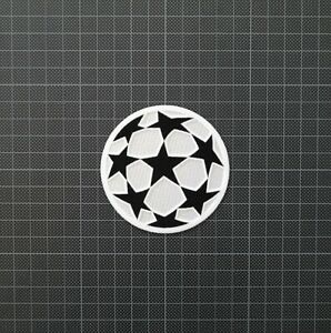 UEFA Champions League Starball Football Patches 1996-2000 & 2001-2003 White