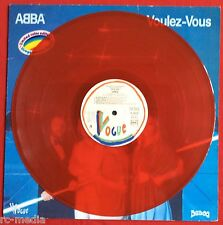 ABBA -Voulez Vous- Rare French Red Vinyl Vogue LP + Inner (Vinyl Record)