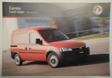 VAUXHALL COMBO orig 2007 UK Mkt Sales Brochure