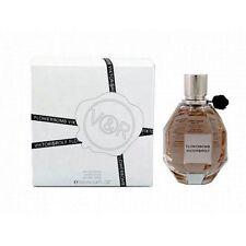 Viktor & Rolf FlowerBomb 3.4 oz Eau De Parfum For Women Plain White In Box